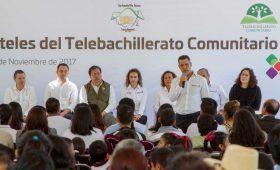 Amplía Gobierno de Oaxaca oferta educativa del nivel Medio Superior: Murat