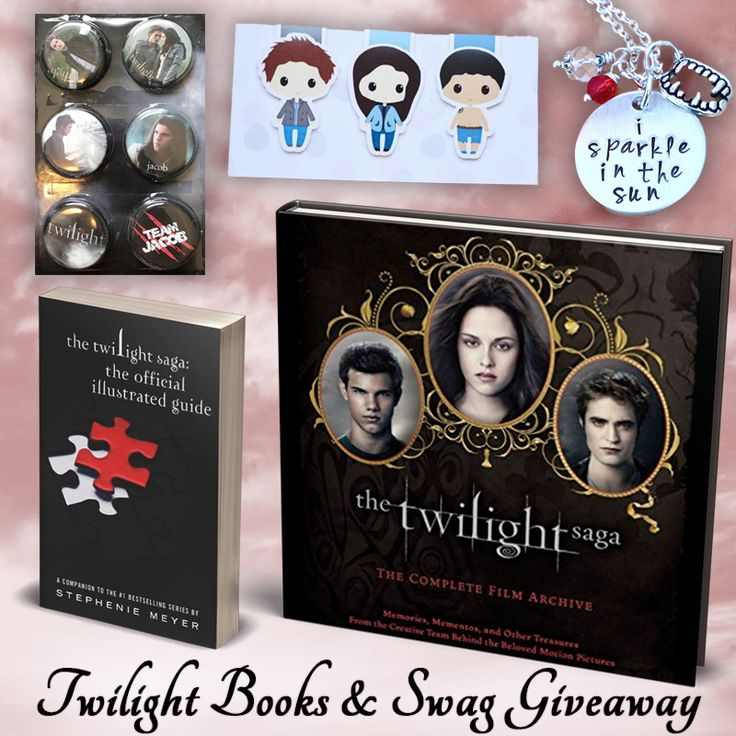 Twilight Books & Swag Giveaway