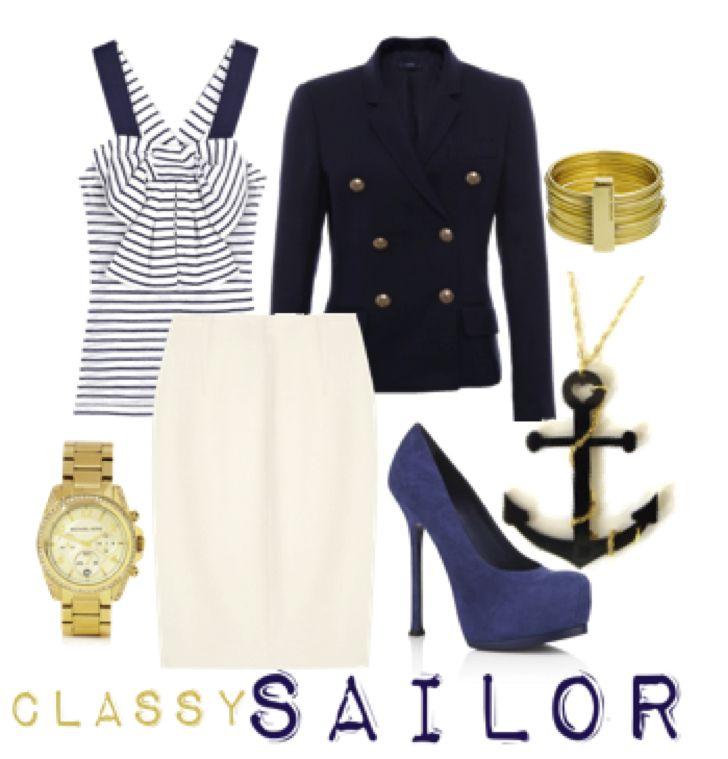 sailor classy halloween costume, women's sailor costume, halloween costumes for work, appropriate halloween costumes for work, appropriate a...