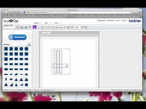ScanNCut Canvas Tutorial for Cutting and Text together