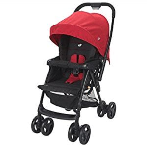 Joie Mirus Scenic Stroller - Ladybird.  Top 10 affordable pushchairs for single parents on a tight budget.  Easy to use pushchair with all the features needed to make life easier for mummy (#afflink)