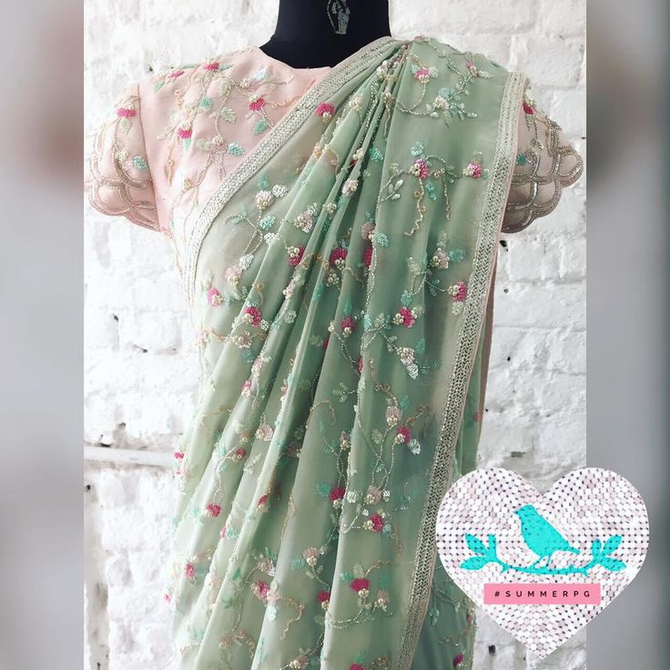 Tulip Jaal Saree . Summer by priyanka Gupta. 20 December 2016
