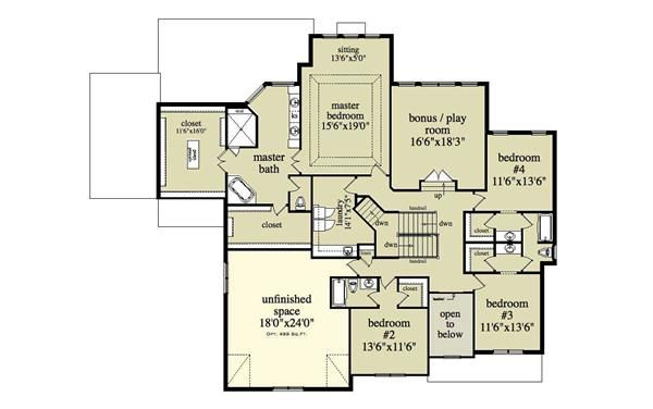 37 best images about house on pinterest house plans for Jack and jill closet design