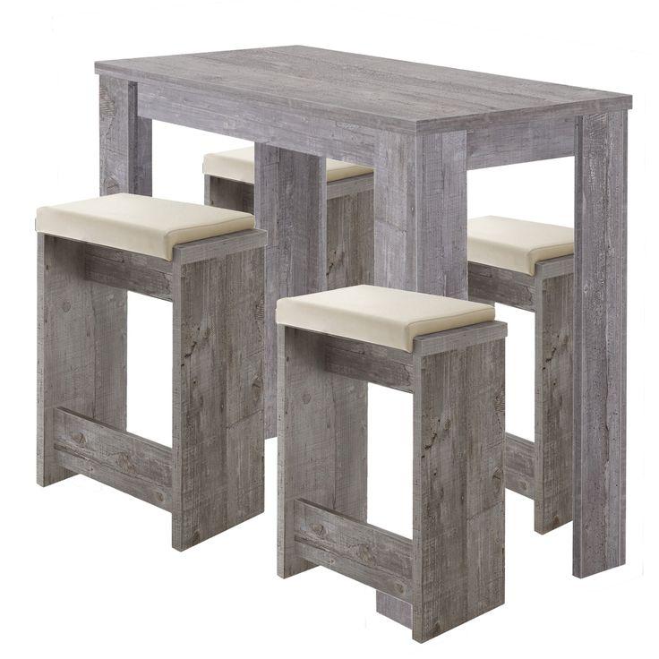 Bar Tisch Set 5teilig Tisch und 4 Hocker Beton Jetzt bestellen unter: https://moebel.ladendirekt.de/wohnzimmer/tische/satztische/?uid=1428c335-29f0-5bb6-84d6-e641df34c19b&utm_source=pinterest&utm_medium=pin&utm_campaign=boards #bar #set #günstig #beton #mäusbacher #satztische #wohnzimmer #bartisch #tische
