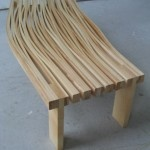 Nuance bench furniture - lamination