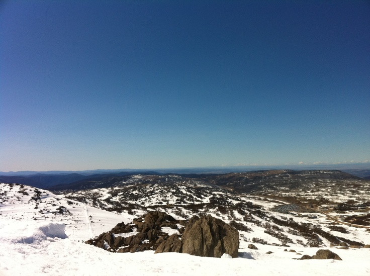 2nd highest peak in Perisher, Australia