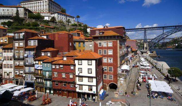 Praça e Cais da Ribeira @ Porto #Portugal