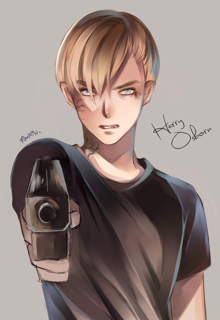 Harry Osborn by kawaiirei on deviantART