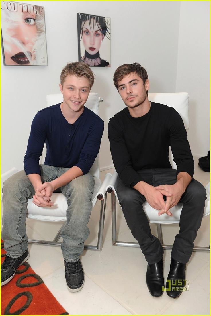 Sterling Knight and Zac Efron...can you say Disney Pretty Boys? Too much cute in one picture:o