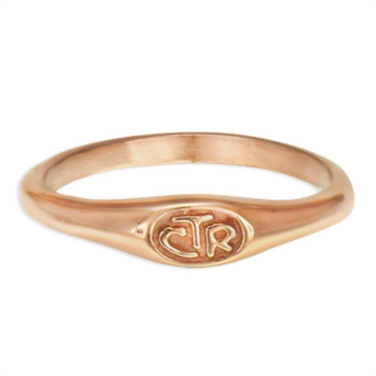 Rose Gold Micro Mini CTR Ring   CTR Rings on LDSBookstore.com (#RM-C17070)