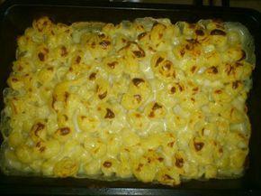 Receta de Macarrones con queso americanos