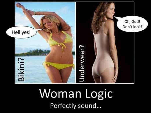 Women's Logic Will Have You Totally Confused (10 Photos)