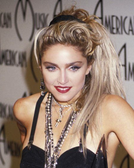 1980s hairstyles Madonna - BakuLand - Women & Man fashion blog