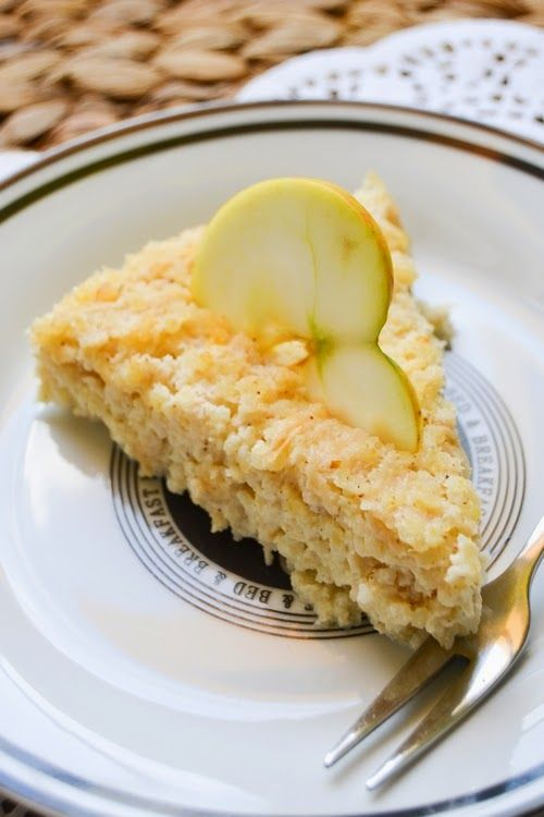 S vášní pro jídlo: Tvarohový jáhelník s jablky