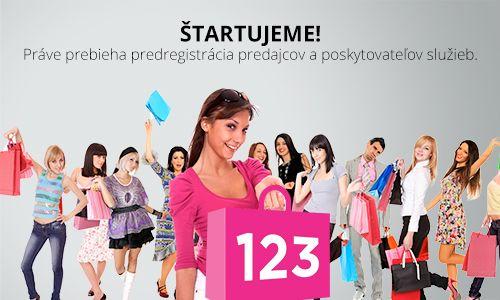 Nákupná Sociálna #Sieť www.123-nakúp.sk …  ŠTARTUJEME!  Práve prebieha predregistrácia predajcov a poskytovateľov služieb.   Ponúknite svoje produkty a služby na mieste, kde ich zákazníci budú #nakupovať.   Buďte prvý medzi úspešnými!