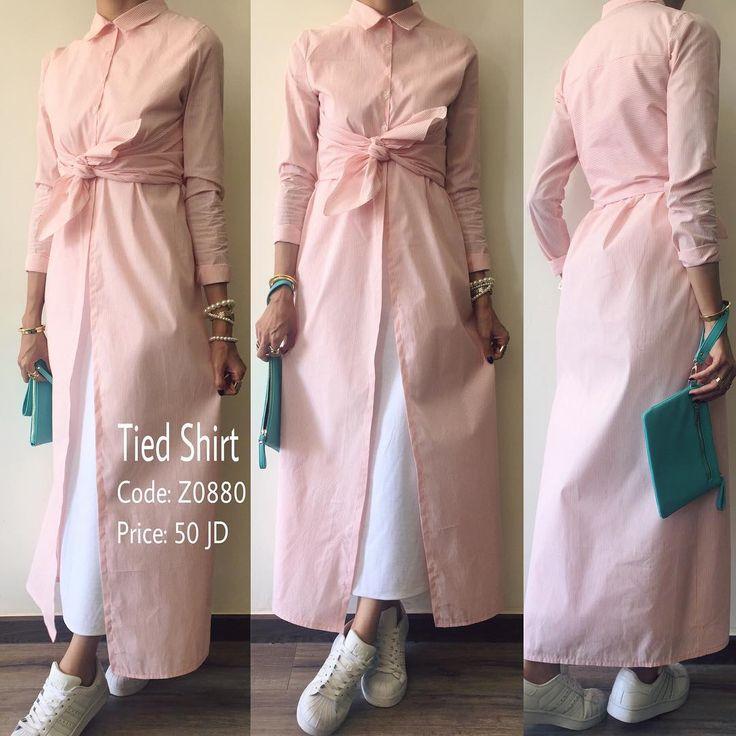 قميص طويل بربطة امامية عصرية ولون مميز منسق مع فستان بدون اكمام من تصميم غادة عثمان.. Available Sizes: S, M & L الطلب و الاستفسار- وتساب: 00962787911119 00962795756560 #ghadashop #turban #turbans #accessories @ghadaaccessories #instahijab #hijab #fashion #hijabfashion #jeans #instafashion #casual #stylish #veildgirls #ladies #dress #skirt #shirt #pearl #modesty #abaya #cardigan #skirt #classy #vintage #designs #newcollection