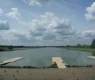 Eton Dorney Rowing Centre Eton Dorney Rowing Centre at Dorney Lake will host...    ... Olympic and Paralympic Rowing and Canoe Sprint events in 2012. © AOC