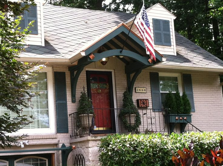 1000 images about bracket porticos on pinterest for Georgia front porch