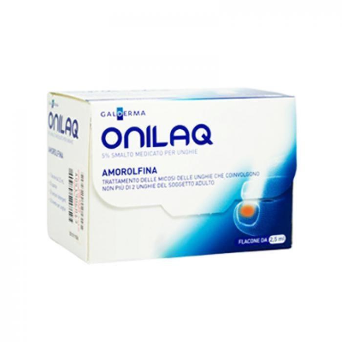 ONILAQ 5% Smalto Medicato per Unghie 2,5 ml. - Via Farmacia Online