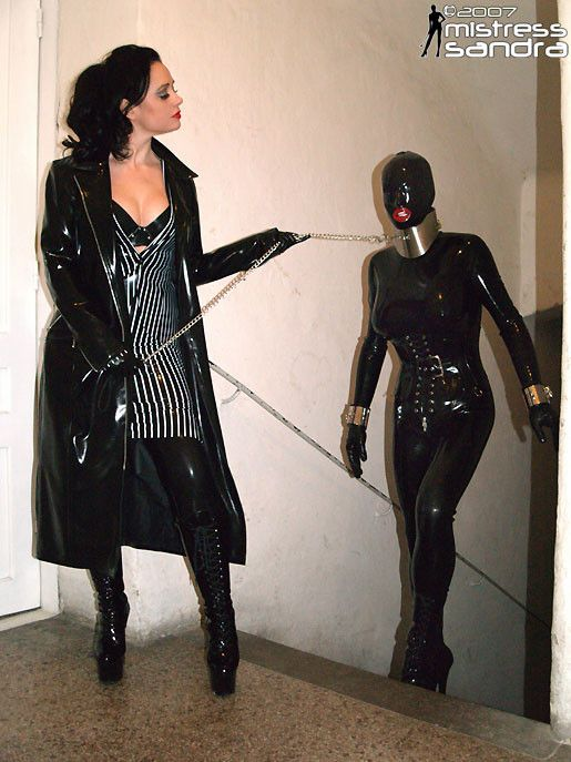 Black leather mask mistress of ceremonies 3