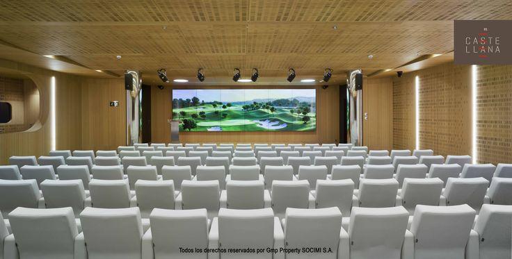 #Castellana81 cuenta con un auditorio con capacidad para 188 personas dotado con la última tecnología. #arquitectura #madrid #eventos