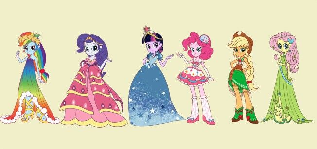 Equestria Girls go to the gala