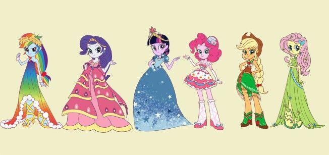 Equestria Girls go to the gala