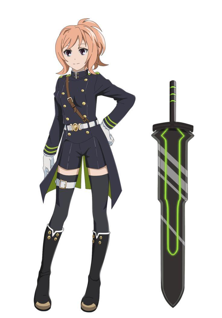 Tsukiko Hodzue (Owari no Seraph OC) by SelenaUmino666
