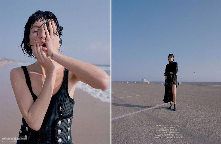 Fashion Copious - Heather Kemesky by Clara Balzary for Re-Edition Winter 2016