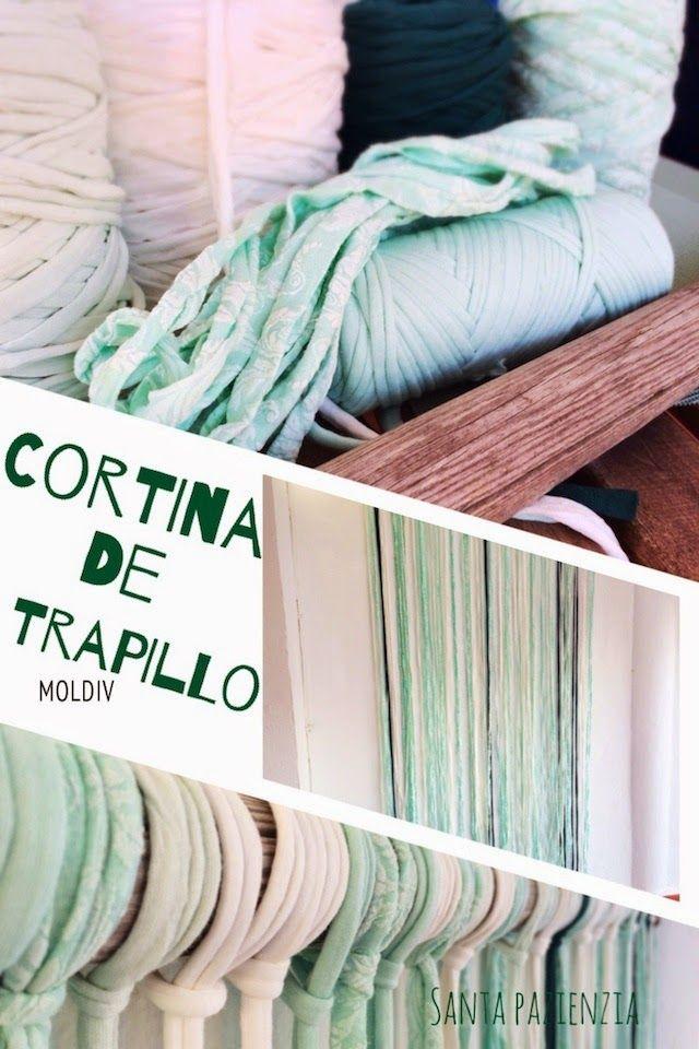 Decorar con Trapillo. Una cortina muy veraniega | Santa Pazienzia