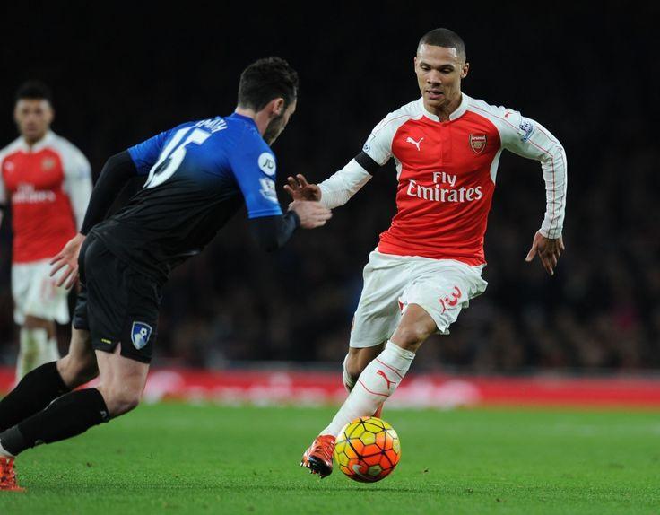 Kieran Gibbs vs AFC Bournemouth #Arsenal #AFC #COYG