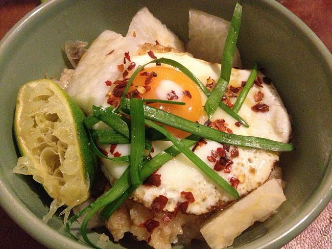 Congee (A Frugal Breakfast)   Economies of Kale