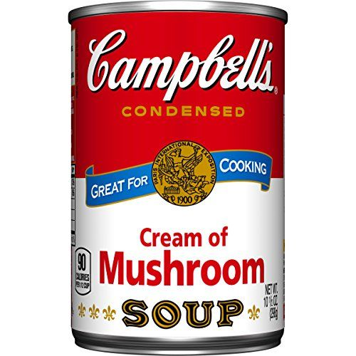 Campbells Condensed Soup Cream of Mushroom 105 Ounce Pack of 48 *** You can find more details by visiting the image link. (Note:Amazon affiliate link)
