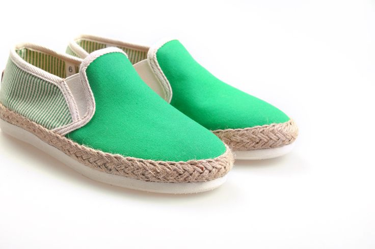 Toms Classic women shoes Green rope sole