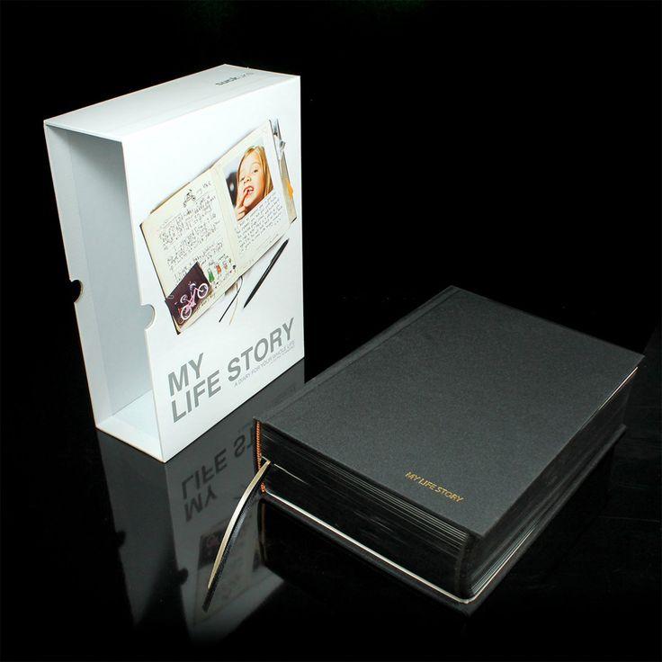 Diario My Life Story per conservare i ricordi con il tradizionale fascino del classico diario! La storia della tua vita raccontata attraverso 1080 indimenticabili pagine!