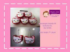 gantungan kunci hello kitty  Wa/Line/Sms: 081327172699 PIN BB:751249F4