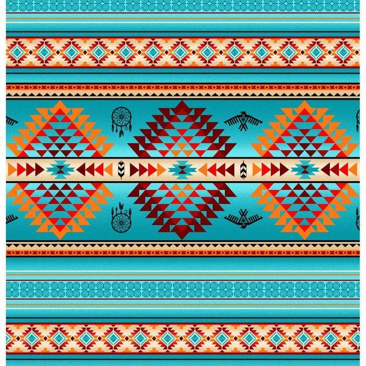 84 best navajo tissus images on pinterest motifs for Southwest decoratives