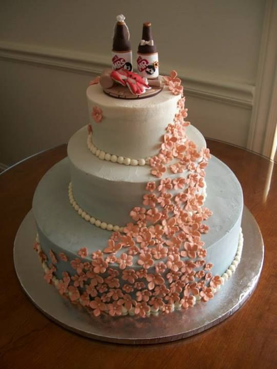 Wedding Cakes Pinterest Maryland Ombre And Themed Wedding C