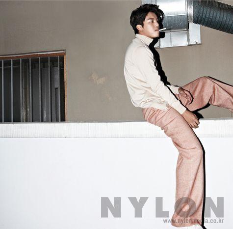 Yun Woo Jin - Nylon Magazine November Issue '14
