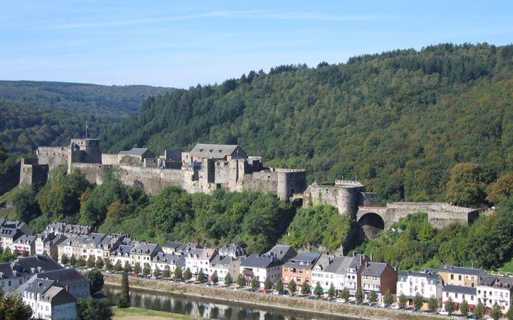 Château de Bouillon dans les Ardennes Belges - Castle Bouillon in Belgium