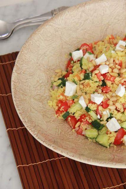 De smaak van Cécile: Marokkaanse couscoussalade