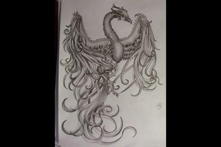 Tatouage phoenix 14588600701