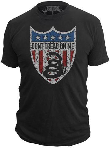 Don't Tread On Me® - American Badge - T-Shirt
