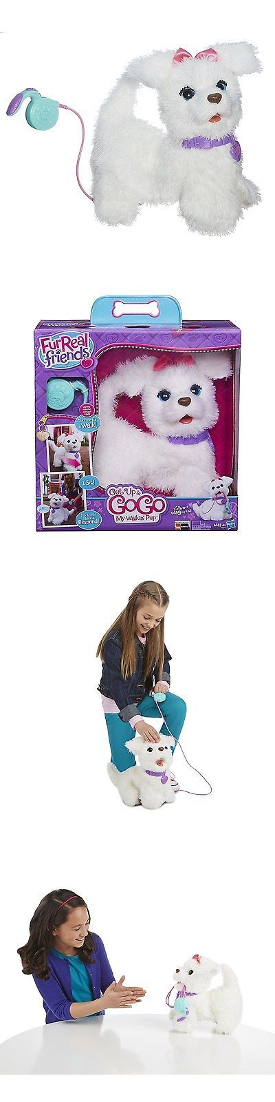 FurReal Friends 38288: New Furreal Friends Get Up And Gogo My Walkin Pup Pet Interactive Plush Dog -> BUY IT NOW ONLY: $94.45 on eBay!