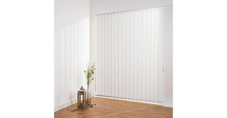 Lamellenvorhang »Lamellenvorhang Vertikalanlage perlex – 127 mm Lamelle«, , fr… – Zimmerdecke