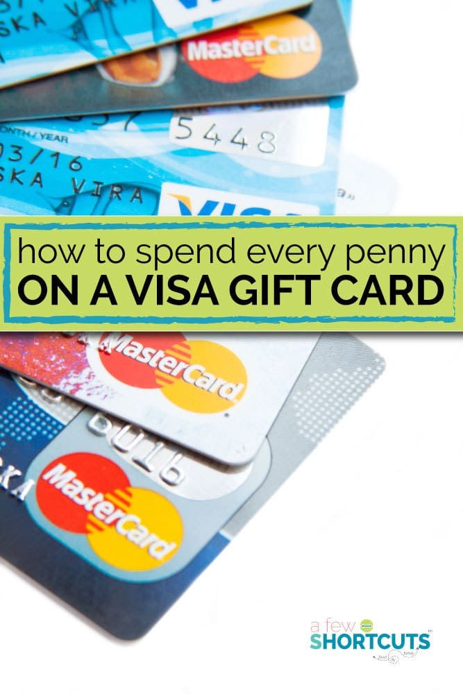 Best 25 mastercard gift card ideas on pinterest gift card how to spend every penny on a visa gift card negle Choice Image