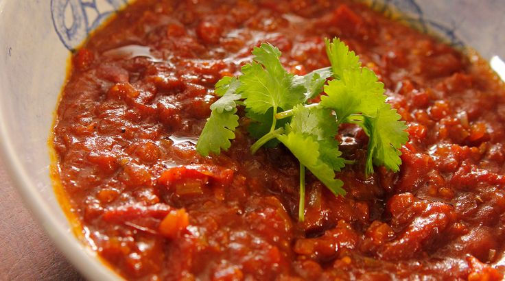 Savour this quick and easy tomato relish recipe by Siba Mtongana from Siba's Table.