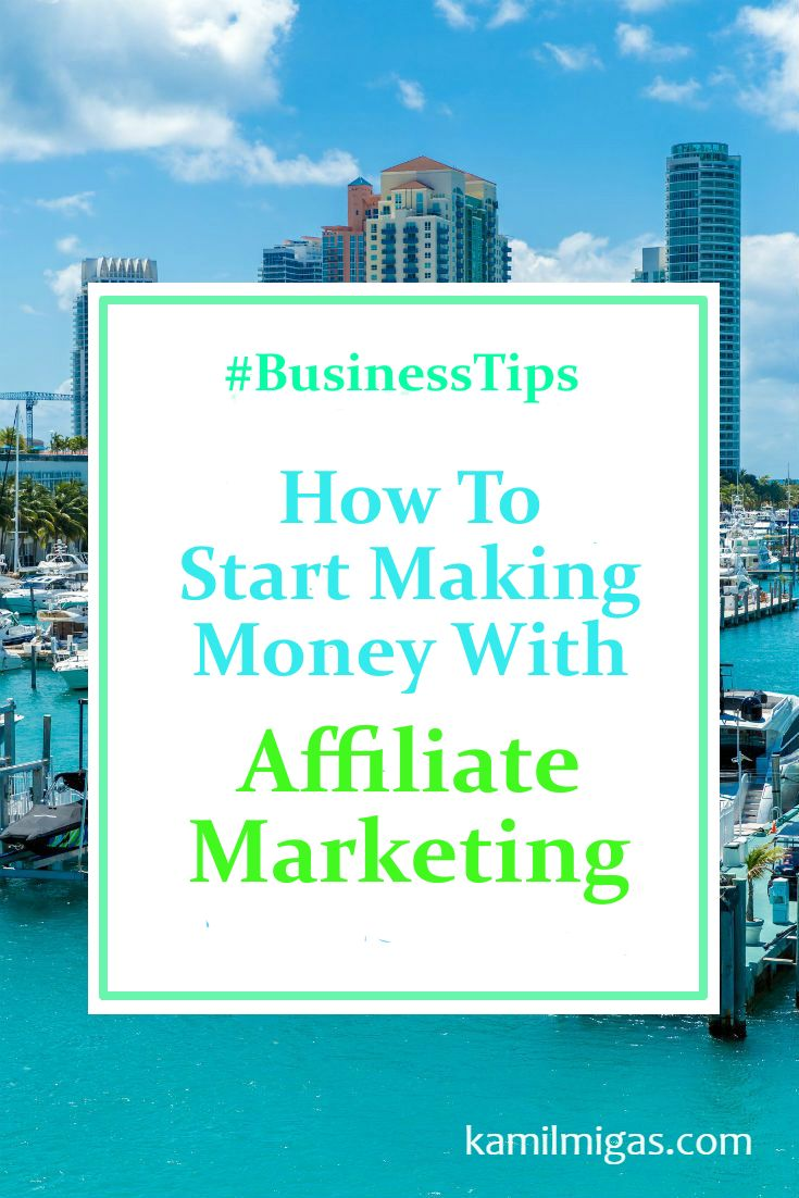 Affiliate Marketing is easy to understand but to start making money as an affiliate, you need to know how to promote your products online! Here are some tips: http://www.kamilmigas.com/start-making-money-affiliate-marketing/ #blogging #biztips #affiliatemarketing #contentmarketing #socialmedia #socialmediamarketing #businessonline #bloggers