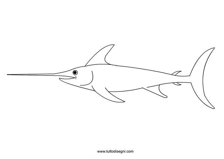 disegni pesci da colorare - Cerca con Google
