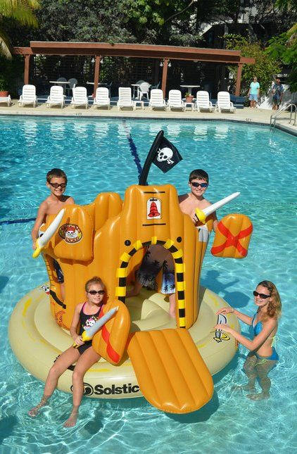 10 Awesome Swimming Pool Inflateables - Girly Design Blog